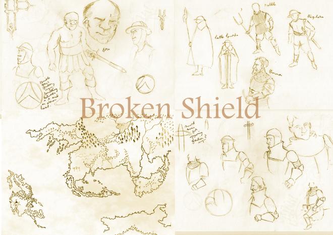 Broken Shield Concept Art